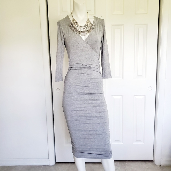 Shein ruched on the sides dress sz. Small